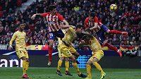 Fotbalisté Atlética Madrid pouze remizovali ve španělské lize doma s Gironou 1:1.