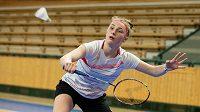 Vycházející česká badmintonová hvězdička Lucie Krulová sní o startu na olympiádě.