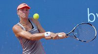 Česká tenistka Denisa Allertová postoupila na turnaji ITF v Praze do semifinále.