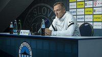 Nový trenér fotbalistů prvoligového Liberce Luboš Kozel vystoupil na tiskové konferenci.