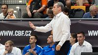 Trenér české basketbalové reprezentace Ronen Ginzburg.