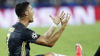 Cristiano Ronaldo z Juventusu