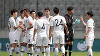 Korejští fotbalisté hráli během rakouského soustředění proti Bolívii, trenér pak sáhl k nečekanému taktickému tahu.