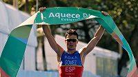 Španělský triatlonista Javier Gomez