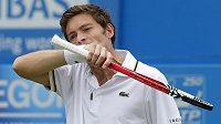 Francouzský tenista Nicolas Mahut.