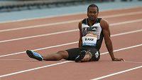 Jamajský sprinter Yohan Blake na mítinku Diamantové ligy v Glasgow.