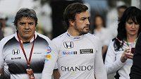 Fernando Alonso ze stáje McLaren.