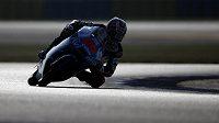 Motocyklista Maverick Viňales ze Španělska vyhrál ve třídě Moto3 kvalifikaci na Velkou cenu Francie.
