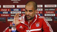 Trenér Bayernu Mnichov Pep Guardiola