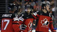 Kanadský hokejista Jordan Eberle se v duelu proti Dánsku na mistrovství světa rovněž zapsal mezi střelce.