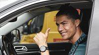 Hvězdný fotbalista Cristiano Ronaldo.
