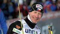 Lukáš Bauer po triumfu v závodě SP v Kuusamu.