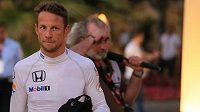 Britský pilot formule 1 Jenson Button