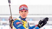 Biatlonistka Gabriela Soukalová skončila ve vytrvalostním závodu na 15 km na MS v Oslu pátá.