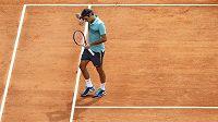 Roger Federer na turnaji v Monte Carlu.