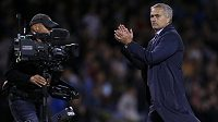 Kouč Chelsea Jose Mourinho po vítězství v Burnley.