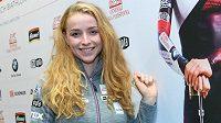 Biatlonistka Markéta Davidová před startem sezony.