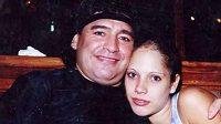 Diego Maradona s Mavys Álvarezovou.