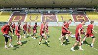 Fotbalisté pražské Dukly se připravují na novou sezónu.