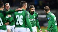 Jablonecká radost po vedoucím gólu nad Astanou v Evropské lize