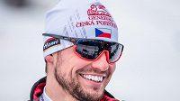 Krčmářovi po dnešním závodě ztuhl úsměv na rtech