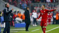 Taktický plán vyšel kouči Bayernu Mnichov Juppu Heynckesovi skvěle.