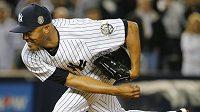 Baseballista New Yorku Yankees Mariano Rivera.
