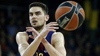 Basketbalista Barcelony Tomáš Satoranský