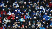 Zápas Liberce s Marseille v Evropské lize sledovaly na stadiónu U Nisy zaplněné tribuny.