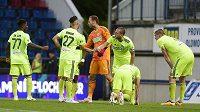 Fotbalisté Karviné vybojovali v Teplicích bod