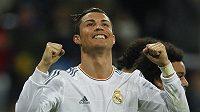 Cristiano Ronaldo se raduje z gólu do sítě Viga.