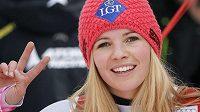 Lichtenštejnská lyžařka Tina Weiratherová