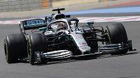 Britský mistr světa Lewis Hamilton.