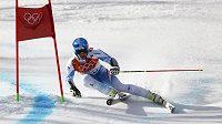 Rakouský sjezdař Matthias Mayer na olympiádě v Soči (ilustrační foto).