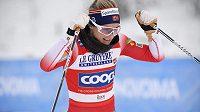Norská lyžařka Therese Johaugová je jednou z hlavních opor severské štafety.