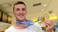 Český kanoista Martin Fuksa vybojoval na mistrovství Evropy v portugalském Montemor-O-Velho dvě zlaté medaile.