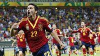 Jesús Navas se raduje. Španěly poslal do finále.