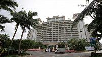 Hotel Mission Hills, v němž Slávisté bydlí.