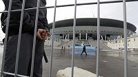 Fotbalový stadión v Petrohradu - ilustrační foto
