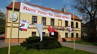 Pražský hotel Selský Dvůr, kde bude během mistrovství světa v ledním hokeji ubytována česká reprezentace.