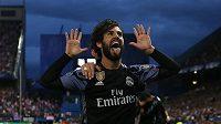 Isco z Realu jásá, dal veledůležitý gól proti Atléticku.