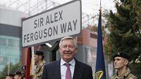 Bývalý trenér Manchesteru United Sir Alex Ferguson má svoji ulici.
