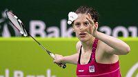 Nejúspěšnější česká badmintonistka Kristína Gavnholt (na snímku z 22. června 2015) ukončila v 28 letech profesionální kariéru.