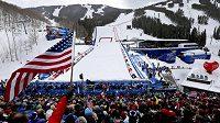 Superobří slalom mužů byl na MS v alpském lyžování v Beaver Crreku kvůli počasí zrušen.