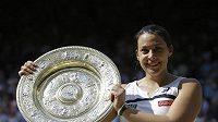 Vítězka letošního Wimbledonu Francouzka Marion Bartoliová.