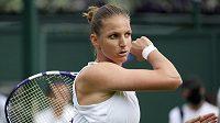 Karolína Plíšková v prvním kole Wimbledonu