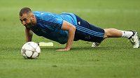 Francouzský útočník Karim Benzema.