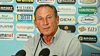 Český fotbalový trenér Zdeněk Zeman