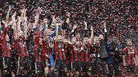 Fotbalisté Atlanty slaví svůj první triumf v MLS.