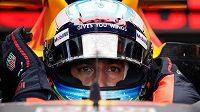 Daniel Ricciardo byl v tréninku rychlý jako blesk.